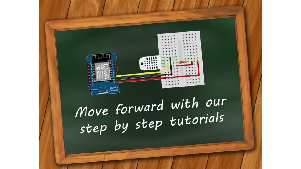 Foto van slider. Move forward with our step by step tutorials.