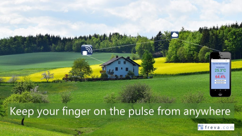 Foto van slider. Keep your finger on the pulse from anywhere