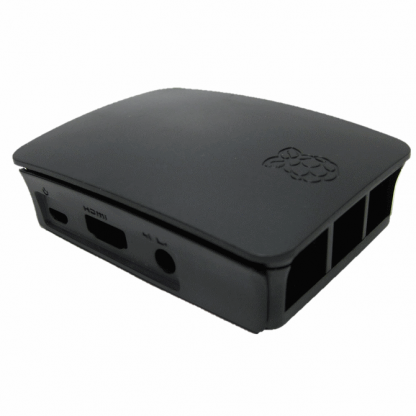 RPI3 black case