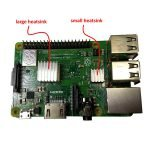 Raspberry Pi 3 B+ heatsinks