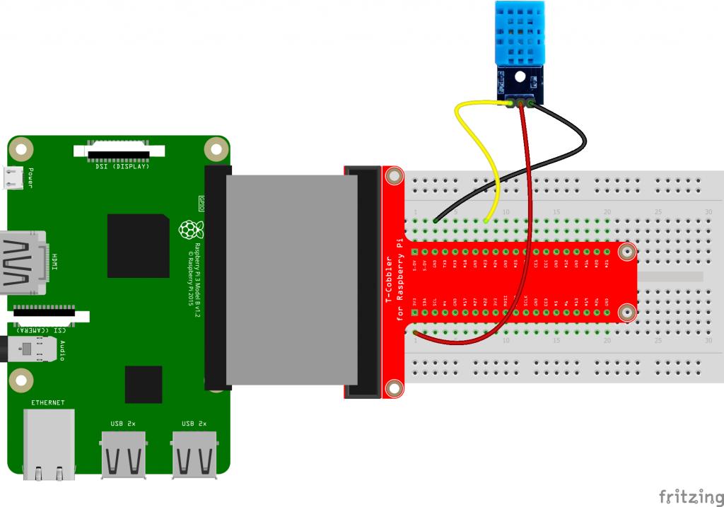 DHT11 sensor met Raspberry Pi aansluiten